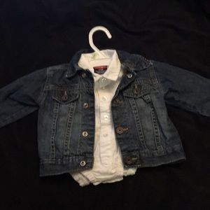 Other - Jean jacket and button-down
